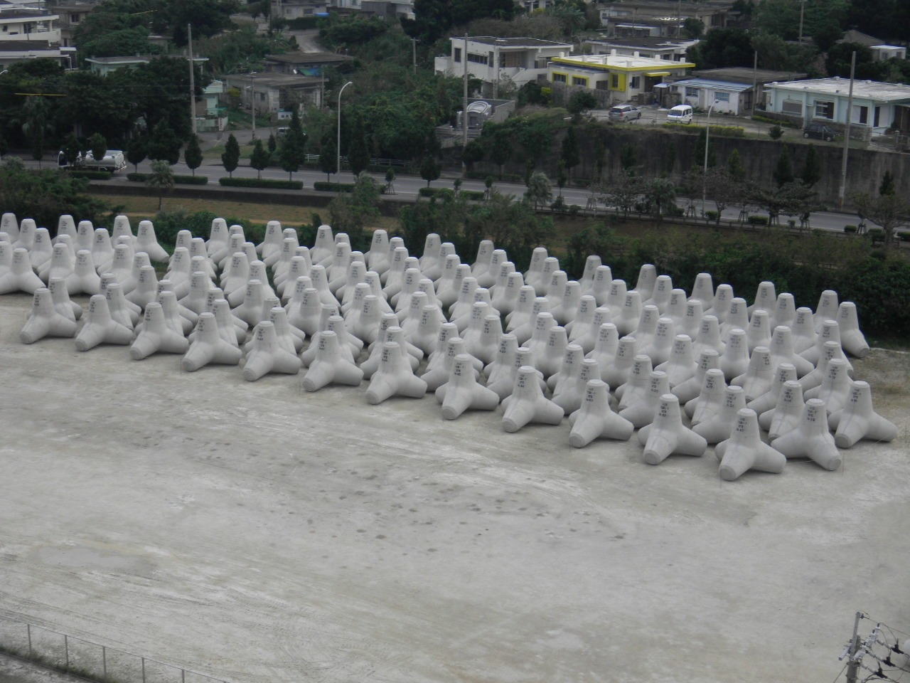 平良港(本港地区)防波堤(下崎北)(改良)消波ブロック工事(第2次)